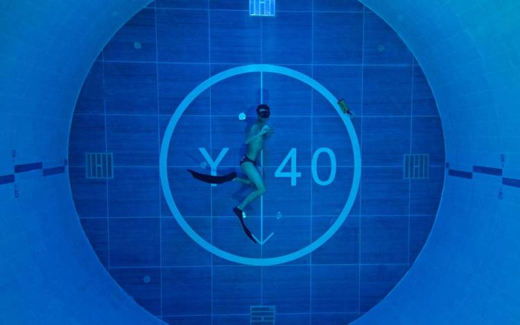World's Deepest Pool - Y-40