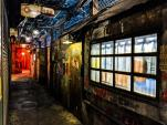 Kowloon Walled City alley