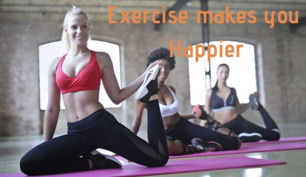 Exercise makes you Happier