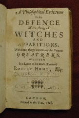 defence of witches