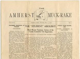 Amherst Muck-rake