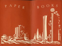 End paper of the first five Paper Books