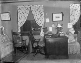 Inside of 30 South College, a student dormitory room, 1896