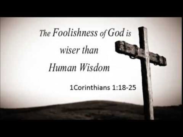 The foolishness of following Jesus