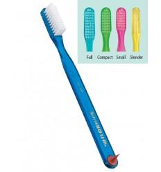 Brosse à dents GUM avec stimulateur de papille gingivale.