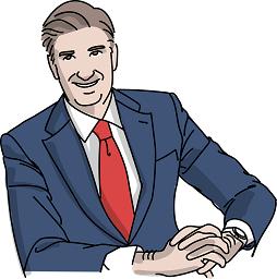 histoire d'entrepreneur_à 45 ans photo d'un homme en costume.
