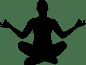 quest ce que le content marketing _ dessin d'un homme qui pratique le yoga