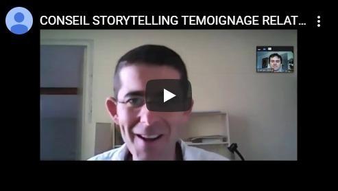 conseil storytelling témoignage pour les relations presse de Hervé Abbès