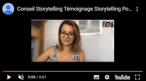 conseil storytelling témoignage pour storytelling des entrepreneurs