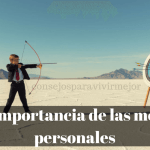 Que son las metas personales