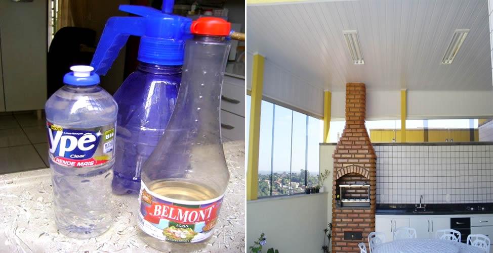 Como limpar o revestimento de PVC