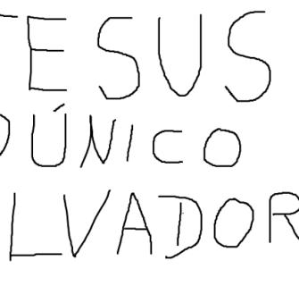 PARA DIVULGAR O CONSELHEIRO - Jesus é o Unico Salvador