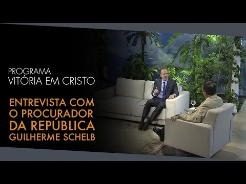 hqdefault - Programa Vitória em Cristo - Entrevista com o Procurador da República Guilherme Schelb - Assustador!