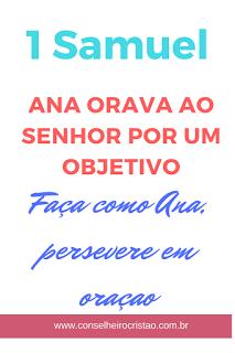 "Anaoravaaosenhorporumobjetivo - ""Por um objetivo"""