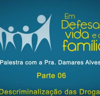 Palestra com a pastora Damares parte 6 - [Palestra] A descriminalização das drogas - Pra. Damares Alves - Parte 6