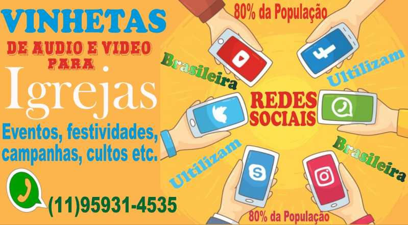Vinheta de Audio e Video - Vinhetas de Audio e Vídeo Para Igrejas
