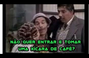 Que tal entrar e tomar uma xícara de café?