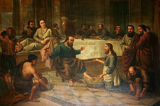 Jesus Lavava os Pés dos Discípulos - Conselheiro Cristão