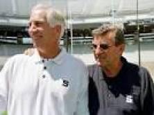 Jerry Sandusky and Joe Paterno