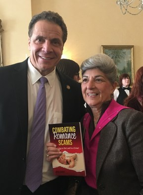 Governor Cuomo, Combating Romance Scams, and me- 1/30/2017