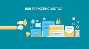 B2B Marketing Vector