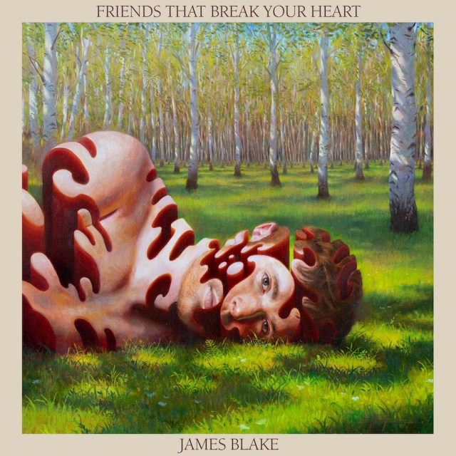 james blake say what you will friends that break your heart album cover artwork