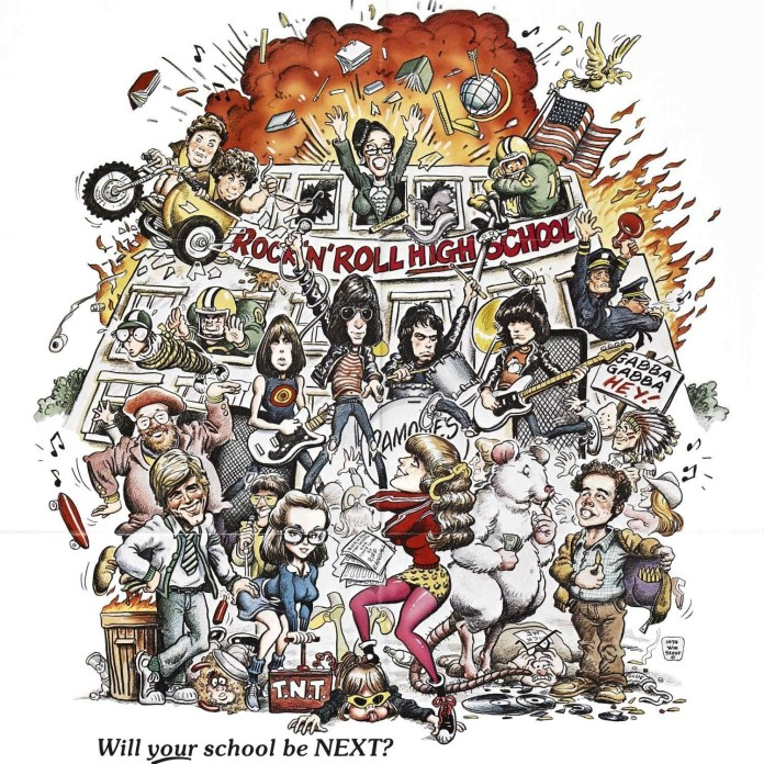 rocknrollhighschool e1439815933544 Rock n Roll High School 40th Reunion: Do Your Kids Know Youre Ramones?