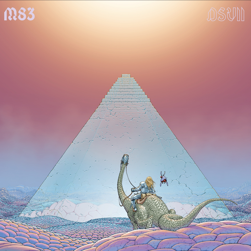 M83 DSVII Album Cover Art