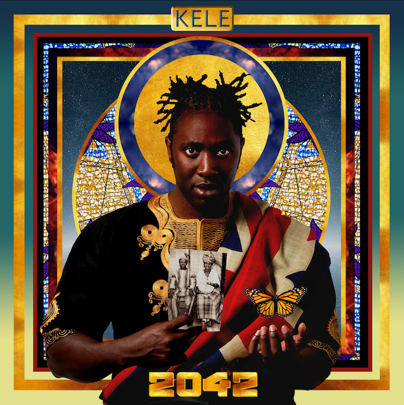 Kele 2042 album cover artwork