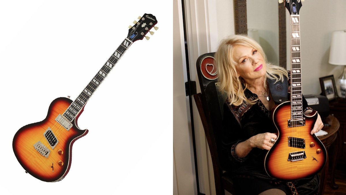 """Heart's Nancy Wilson and Epiphone Announce New """"Fanatic"""" Electric Guitar"""