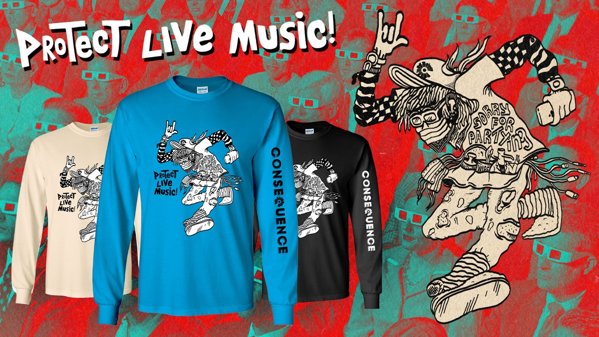 Support Independent Venues with Our New Protect Live Music Shirt