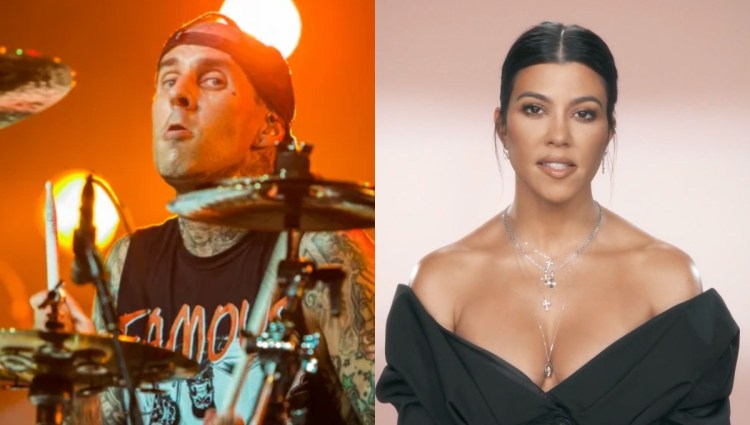 Travis Barker and Kourtney Kardashian Are Officially ...