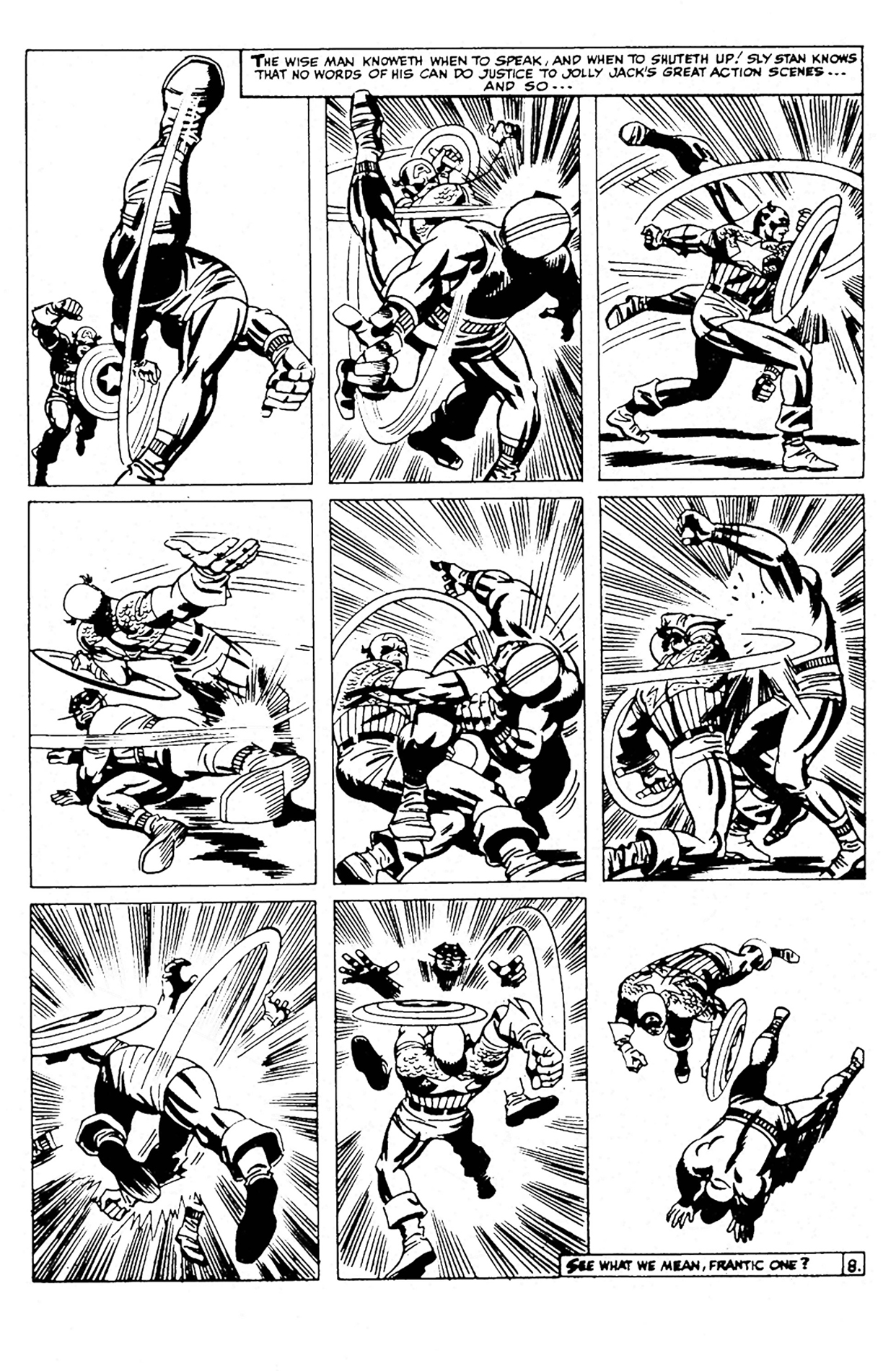 Page Scene Fight
