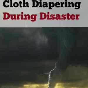 Cloth Diapering During Disaster