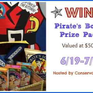 Pirate's Booty Treasure Chest Giveaway (Value $50) ends 7/7