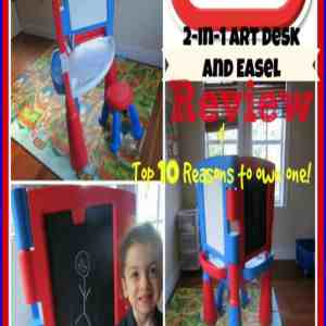 Top 10 Reasons to Own a Little Tikes 2-in-1 Art Desk  & Easel
