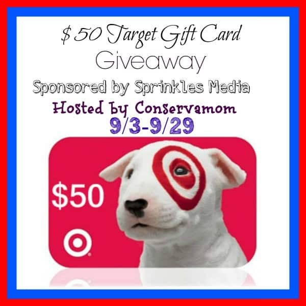 Sprinkles Media $50 Target GC Giveaway