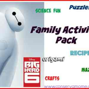 Disney's Big Hero 6 Fun Activites!