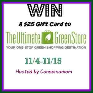 The Ultimate Green Store Review & $25 Gift Card Giveaway ends 11/15