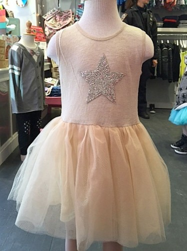 WLS White Short Silver Star