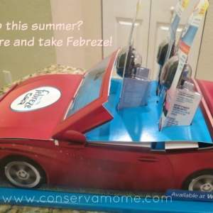 Take Freshness on the Road with Febreze Vent Clips & Win $25 Walmart Gift card ends 3/21