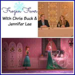 Frozen Fever with Directors Chris Buck & Jennifer Lee