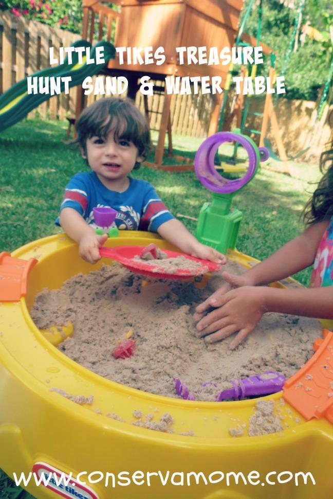 Little Tikes Treasure Hunt Sand & Water table