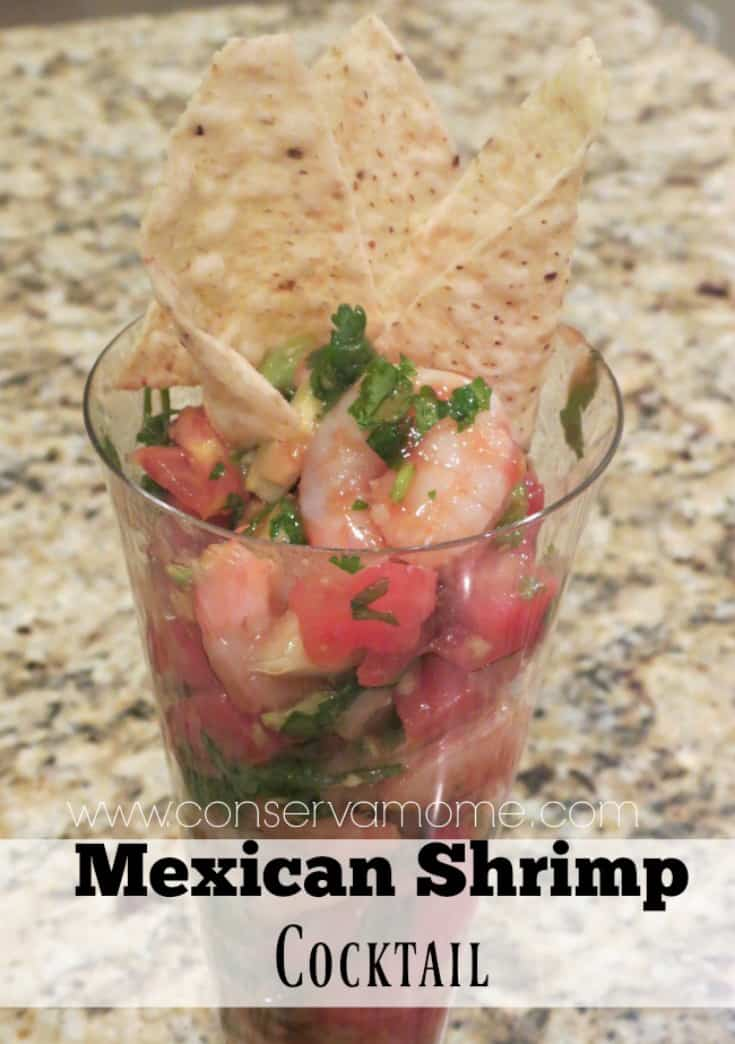 This delicious Mexican Shrimp Cocktail Recipe is a huge favorite in our home. Filled with amazing taste and flavors you won't be able to just have one cup.