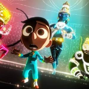 "Disney•Pixar short film ""Sanjay's Super Team First Look"