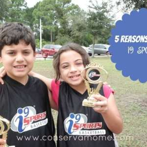 5 Reasons Why I9 Sports are a Must for Kids + Win a Free Season ends 12/19