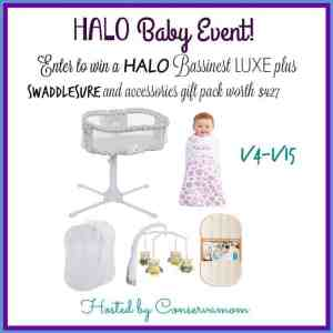 HALO Bassinest LUXE Gift Pack Giveaway (RV $427) Ends 1/15