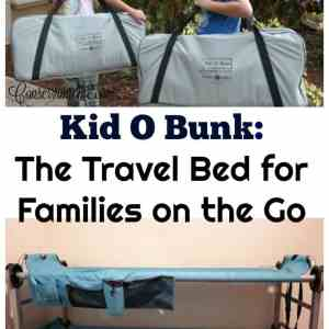 Kid O Bunk: The Travel Bed for Families on the Go!