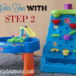 Water Fun with Step 2 – Finding Dory Water Table & Waterfall Discovery Wall