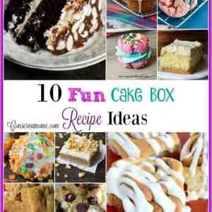 10 Fun Cake Box Recipe Ideas
